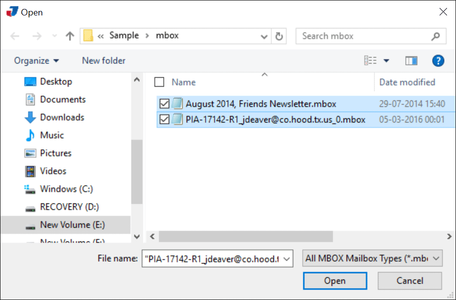 MBOX to PST Converter to Import MBOX in MS Outlook